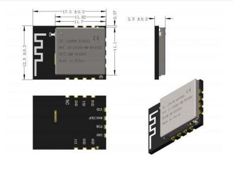 HM-BT4502 Bluetooth Low Energy (BLE) Pass-through Module