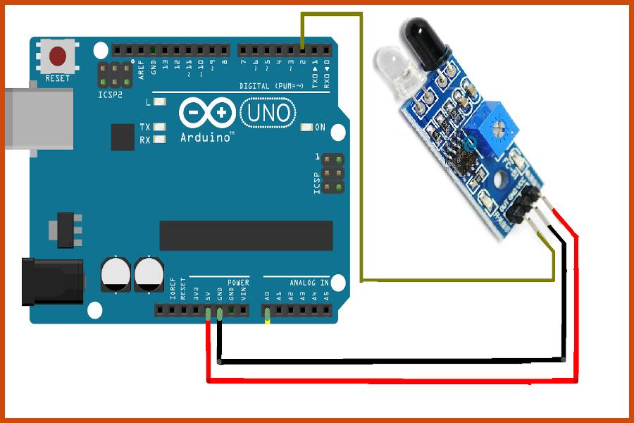IR sensor with arduino