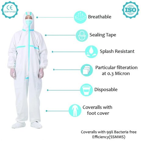 General purpose Coverall (jacket)-without blue tape