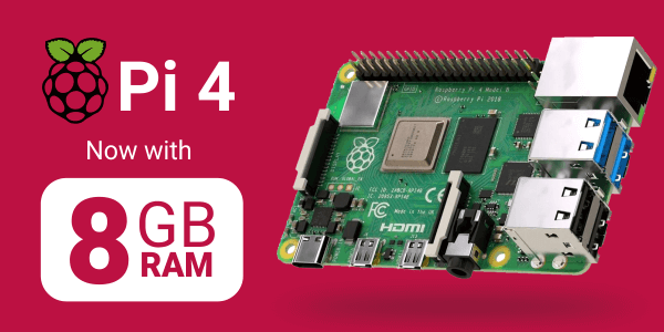 raspberry pi 8GB