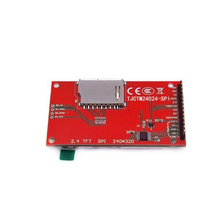 2.4 inch SPI Interface 240x320 Touch Screen TFT Colour Display Module