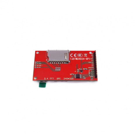 2.4-inch SPI Interface 240x320 TFT Display Module