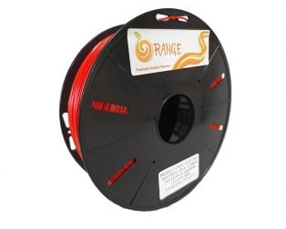 Orange PLA+ 1.75mm 3D Printing Filament 1kg-RED