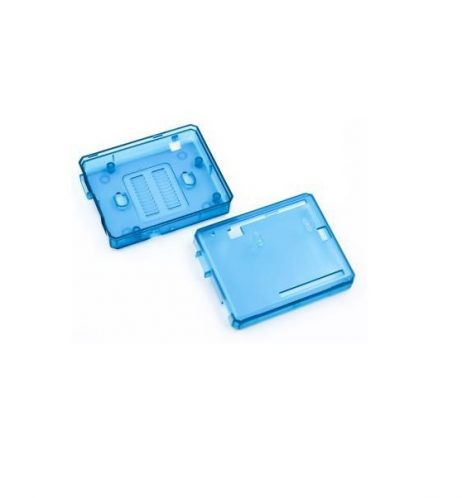 Transparent Blue ABS Plastic Case for UNO R3