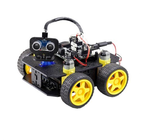Robot Build on 4D cligo chassis