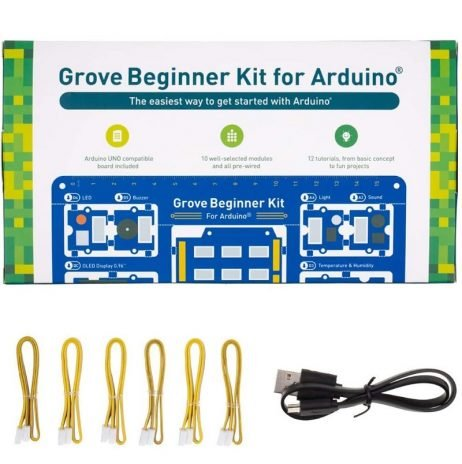 Grove - Arduino Beginner Kit (All-in-one Arduino Compatible Board)