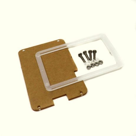 Acrylic Clear Transparent Case for Nextion Basic Touch Screen - 3.5 inch
