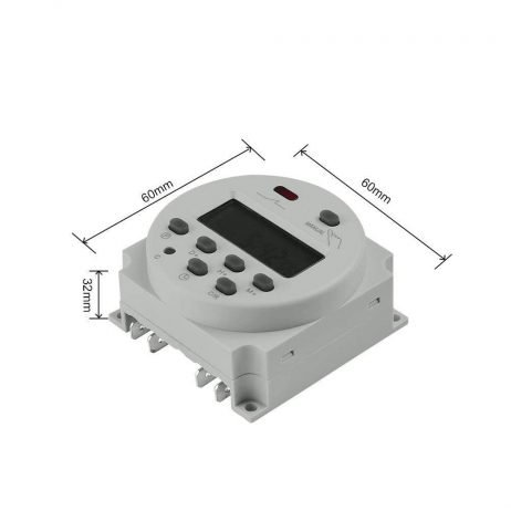CN101A 12V LCD Digital Timer Programmable Time Switch