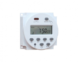 CN101A 24V LCD Digital Timer Programmable Time Switch