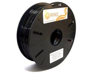 Orange PLA+ 1.75mm 3D Printing Filament 1kg-Black