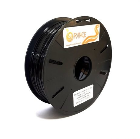 Orange PLA+ 1.75mm 3D Printing Filament 1kg-Black