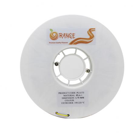 Orange PLA+ 1.75mm 3D Printing Filament 1kg-Yellow