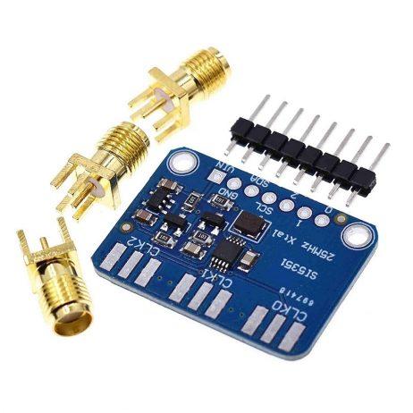 Si5351A I2C 8 Khz-160 Mhz Clock Generator Breakout Board Module