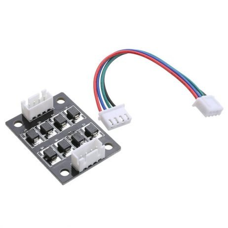 Smoother module for stepper driver motor