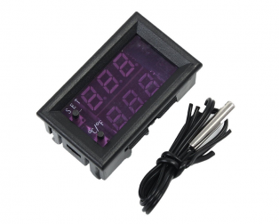 W1209WK DC12V LED Digital Thermostat Tempeature Controller Regulator