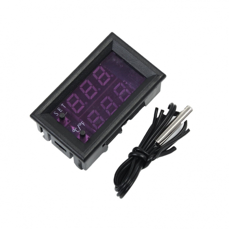W1209WK DC12V LED Digital Thermostat Tempeature Controller Regulator
