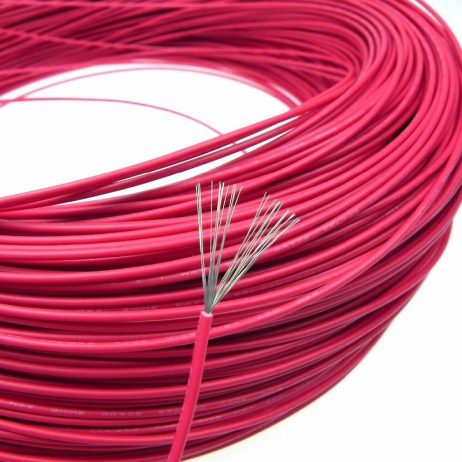 22AWG UL1007 PVC Electronic Wire 1m (Black) + 1m (Red)