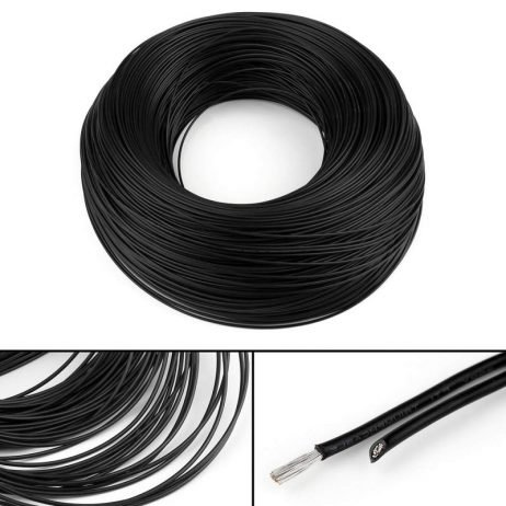 18AWG UL1007 PVC Electronic Wire 1m (Black) + 1m (Red)