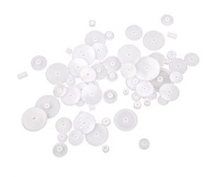 58 Types Straight tooth crown gear DIY assorted Kit