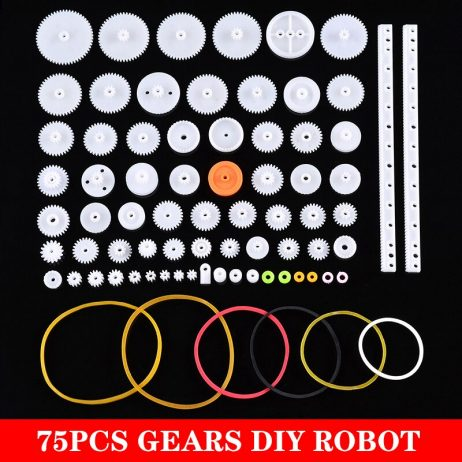 75pcs. Gears Assorted Kit