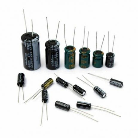 Aluminum Electrolytic 12 Kinds 0.22μF-470μF Capacitor Assorted Kit