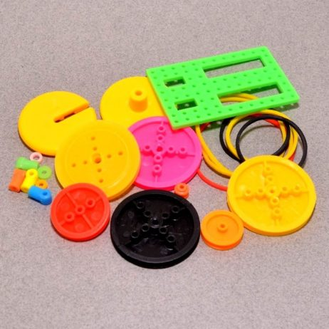 Colorful Plastic Motor Gear Assorted Kit
