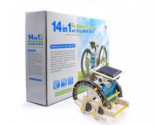 DIY 14 in 1 Educational Solar Transformers Robot Kit Toy