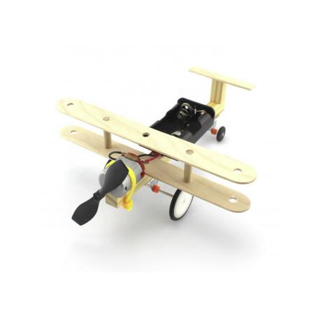 DIY Educational Toy Kit Single Propeller Glider Plane