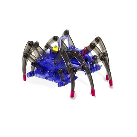 DIY Electronic Spider Robot Assembly Educational Toy for Children