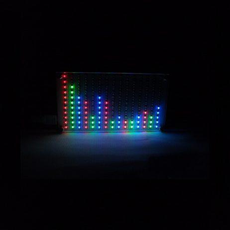 DIY LED Music Spectrum Display Kit