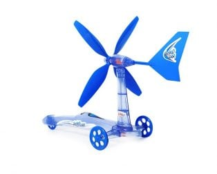 DIY Wind Power Car Educational Kit for kids