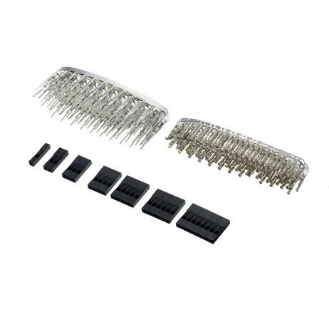 Dupont Connector 2.54mm, Dupont Cable Jumper Wire Pin Header Housing Assorted Kit