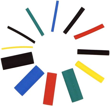 Heat Shrink Tubing (HST) Insulation Assorted kit 45mm length - 530pcs