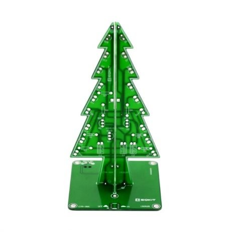 LED 3D Christmas Tree- DIY Kit