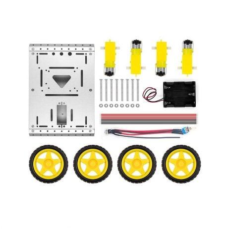 Metal Tank Robot Smart Car Chassis Kit