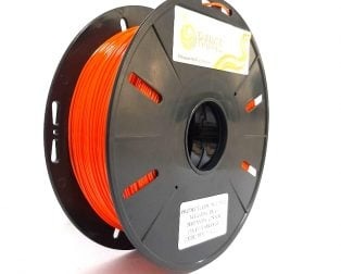 Orange PLA+ 1.75mm 3D Printing Filament 1kg-Orange