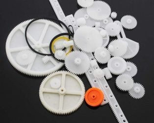 Plastic Rack and Pinion Gear Pulley Shaft Worm Gear Reducer for Robot DIY Assorted Kit- 34 Kinds