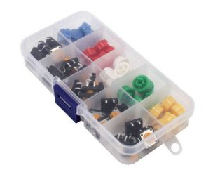 Tactile Push Button Switch Assorted Kit - 25 pcs