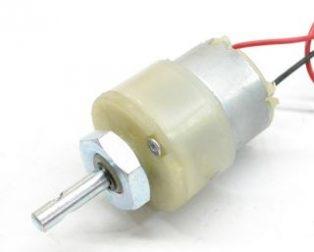 Plastic Gear Box Motor