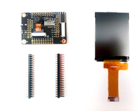 Sipeed M1 dock suit ( M1 dock + 2.4 inch LCD + OV2640 ) K210 Dev. Board for Edge Computing