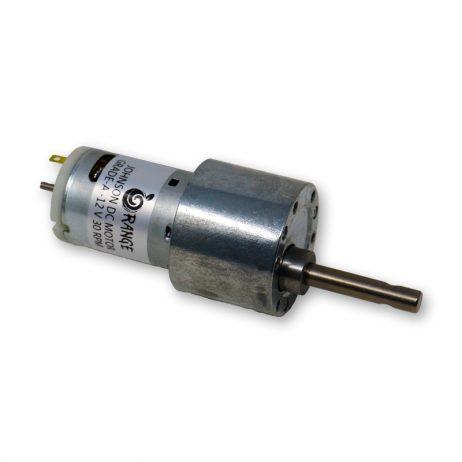 Orange 12V 30 RPM Johnson Geared DC Motor – Grade A Quality-Encoder Compatible