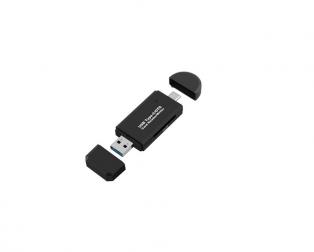 3-in-1 USB Type-C OTG Card Reader