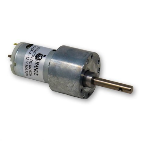 Orange 12V 10 RPM Johnson Geared DC Motor - Grade A Quality-Encoder Compatible