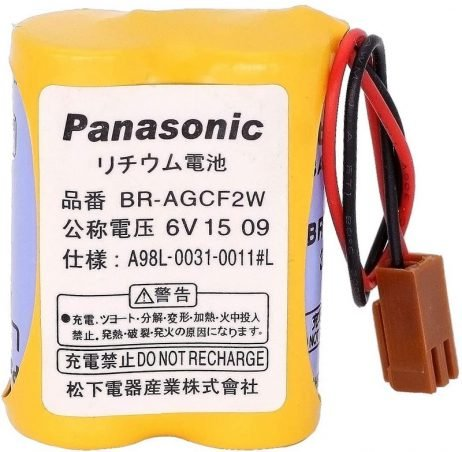 Panasonic BR AGCF2W-6v Lithium Battery For CNC