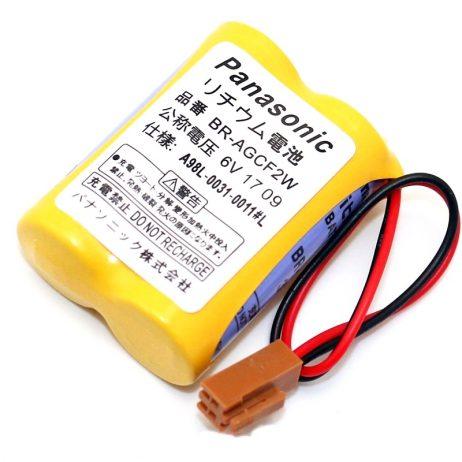 Panasonic BR AGCF2W-6v Lithium Battery For CNC