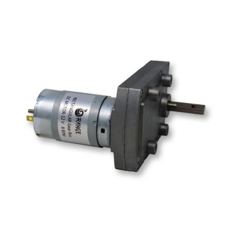 Orange TT555 12V 8RPM Rectangular gearbox DC motor-Encoder Compatible