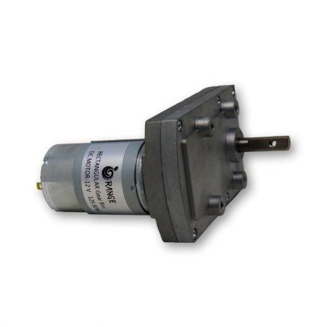 Orange TT555 12V 125RPM Rectangular gearbox DC motor-Encoder Compatible