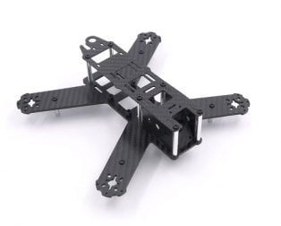 QAV210 Quadcopter Strong Carbon Fiber 3mm Arm FPV Racing Frame(210mm) Kit