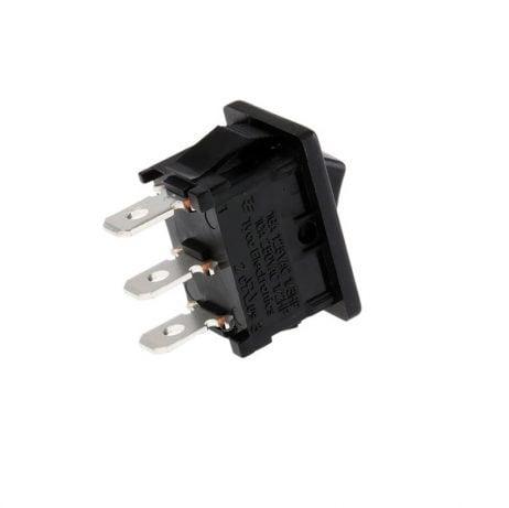 6 A 250V 3- pin SPDT ON-OFF Rocker Switch- 2pcs