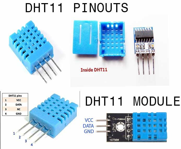 DHT-11-PINOUTS